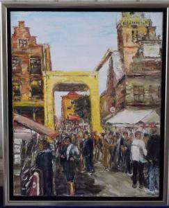 stad alkmaar kaasmarkt