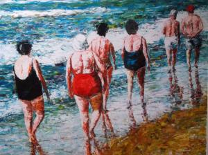 strand wandeling